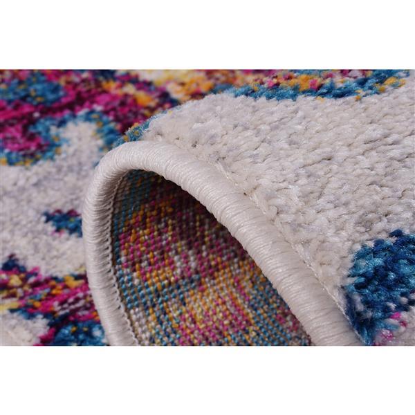 La Dole Rugs®  Johanna Blotanical Persian Rug - 2' x 3' - Multicolour