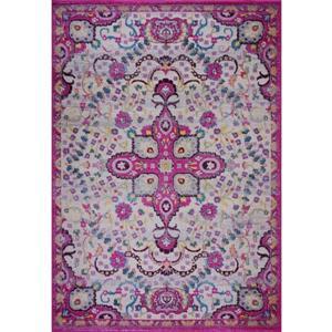 La Dole Rugs®  Darcy Traditonal Persian Area Rug - 7' x 10' - Pink