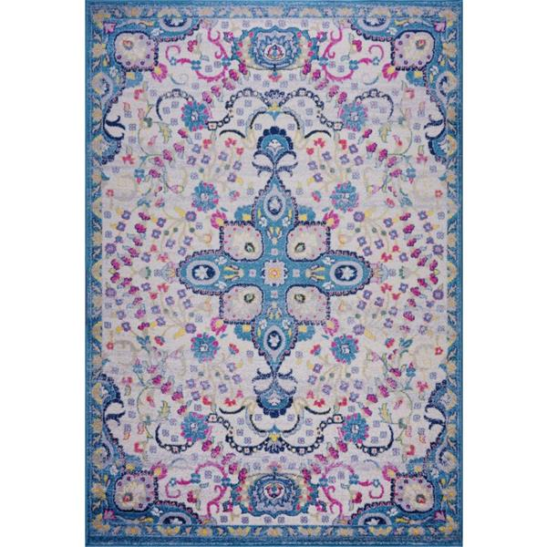 La Dole Rugs®  Darcy Traditonal Persian Area Rug - 5' x 8' - Blue