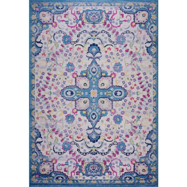 La Dole Rugs®  Darcy Traditonal Persian Area Rug - 7' x 10' - Blue