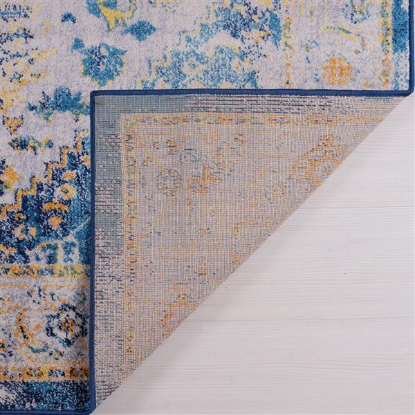 La Dole Rugs® Modena Traditional Area Rug - 2' x 3' - Blue/Multicolour