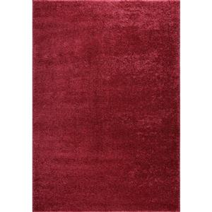 Shaggy Meknes Small Runner - 3' x 5' - Rose