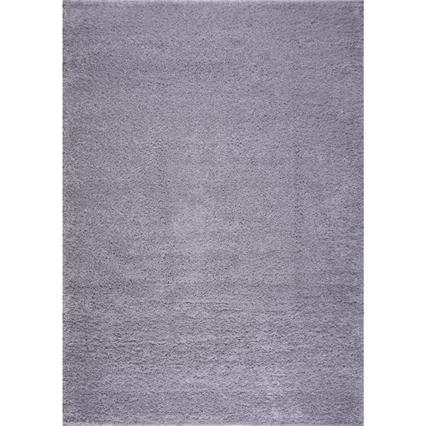 La Dole Rugs® Shaggy Meknes Big Rectangular Runner - 3' x 10' - Grey