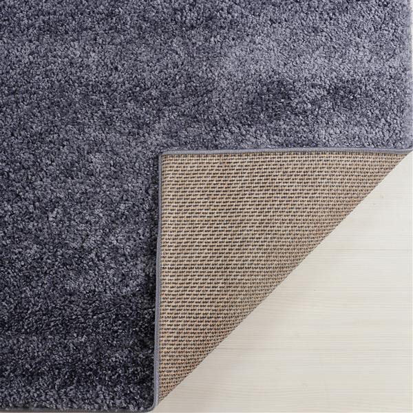 La Dole Rugs® Shaggy Meknes Turkish Area Rug  - 4' x 6' - Grey