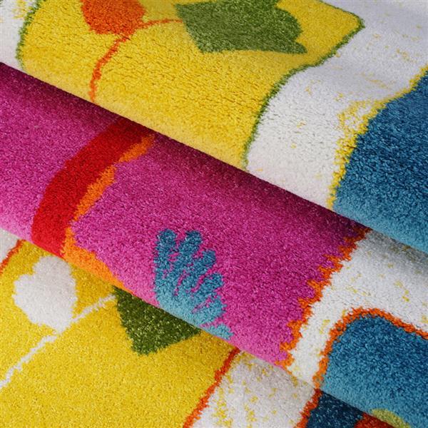 La Dole Rugs® Kids Nature Area Rug - 8' x 11' - Cream/Multicolour
