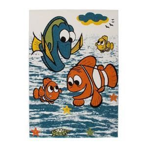 """Tapis pour enfants à thème poisson, 5' 2"""" x 7' 3"""", multi"""