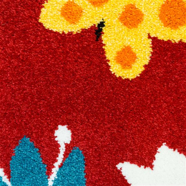 "La Dole Rugs®  Kids Fox Area Rug - 6' 2"" x 9' 2"" - Multicolour"