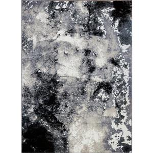 Tapis abstrait contemporain «Everest Siesta», 8' x 11