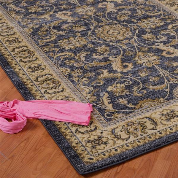 La Dole Rugs® Medallion Traditional Runner - 3' x 10' - Grey/Cream