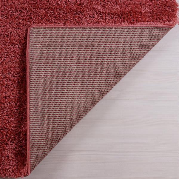 La Dole Rugs® Meknes Area Rug - 5.3' x 7.5' - Polypropylene - Orange