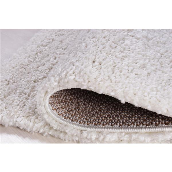 La Dole Rugs® Meknes Area Rug - 2.6' x 4.9' - Polypropylene - Ivory