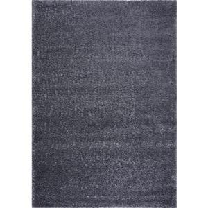 La Dole Rugs® Rabat Turkish Area Rug - 2.6' x 4.9' - Polypropylene - Gray