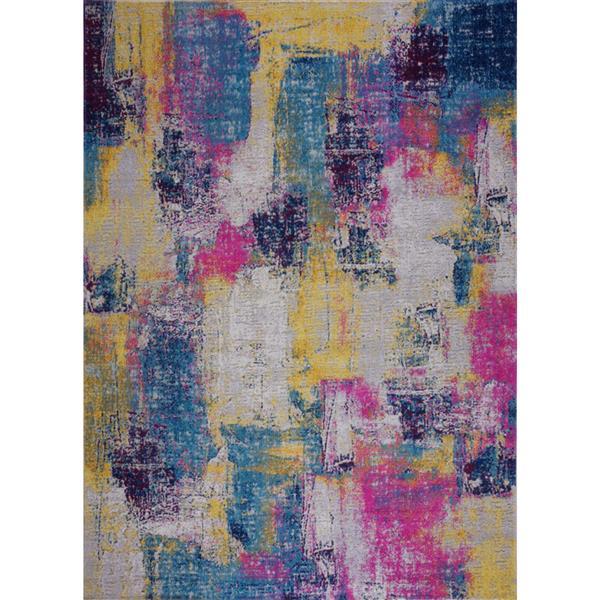 La Dole Rugs® Yorkson Area Rug - 6.4' x 9.4' - Polypropylene - Multicolour