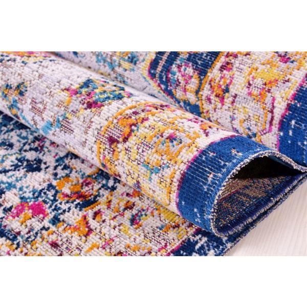 La Dole Rugs® Traditionnal Rug - 6.4' x 9.4' - Polypropylene - Multicolour