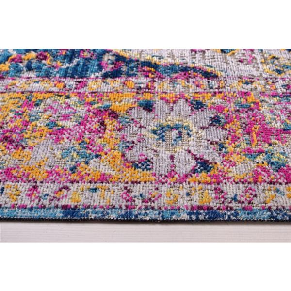 La Dole Rugs®  Florida Area Rug - 6.4' x 9.4' - Polypropylene - Multicolour