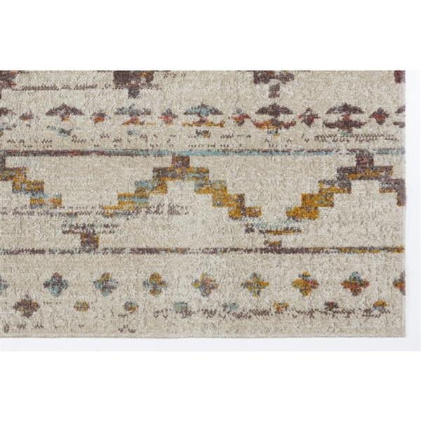 La Dole Rugs®  Cranbrook Area Rug - 5.3' x 7.5' - Polypropylene - Brown