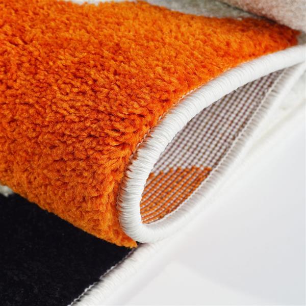 La Dole Rugs® Trellis Area Rug - 5.3' x 7.5' - Polypropylene - Cream/Multi