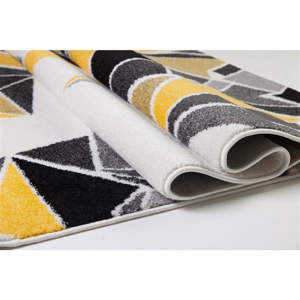 La Dole Rugs®  Geometric Area Rug - 10.4' - Polypropylene - Multicolour