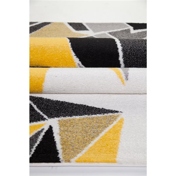 La Dole Rugs®  Geometric Area Rug - 5.6' - Polypropylene - Multicolour