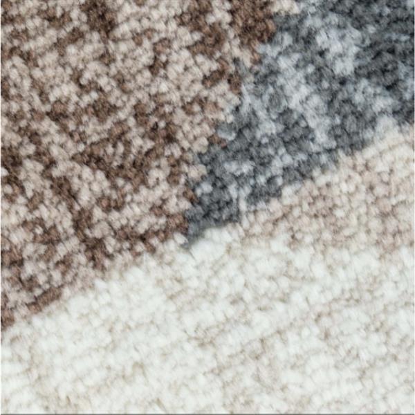 Tapis à chevrons, 9,4', polypropylène, multicolore