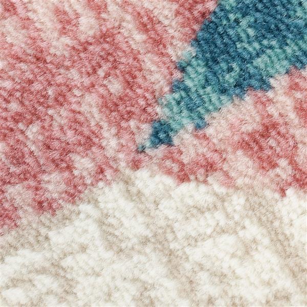 La Dole Rugs®  Chevron Area Rug - 6.4' x 9.4' - Polypropylene - Multicolour