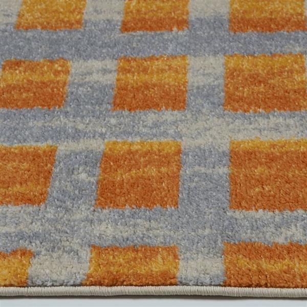 La Dole Rugs®  Geometric Area Rug - 7.8' x 10.4' - Polypropylene - Yellow