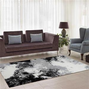 La Dole Rugs®  Abstract Area Rug - 6.4' x 9.4' - Microfibre - Multicolour