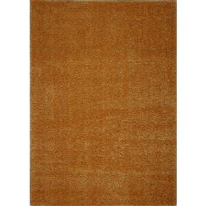 Tapis Candy, 5,3' x 7,5', polypropylène, orange