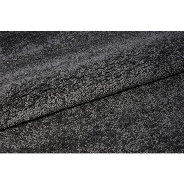 La Dole Rugs®  Candy Area Rug - 7.8' x 10.4' - Polypropylene - Gray