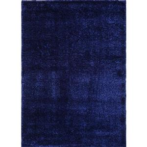 La Dole Rugs®  Candy Area Rug - 7.8' x 10.4' - Polypropylene - Navy Blue