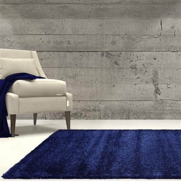 La Dole Rugs®  Candy Area Rug - 5.3' x 7.5' - Polypropylene - Navy Blue