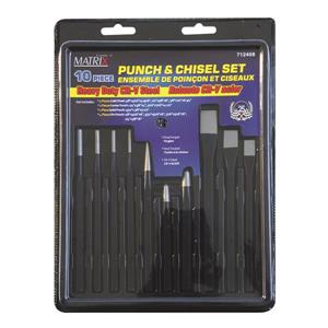 Matrix Toolway 10-Piece Punch and Chisel Set