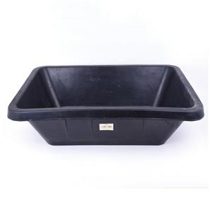 Toolway Rubber Mixing Tub - Black - 40L