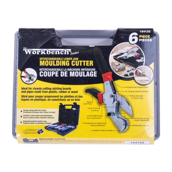 Workbench Toolway Moulding Cutter - Multi Jaws