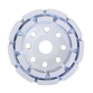 Segmented 2 Row Diamond Cup Wheel 4 1/2in