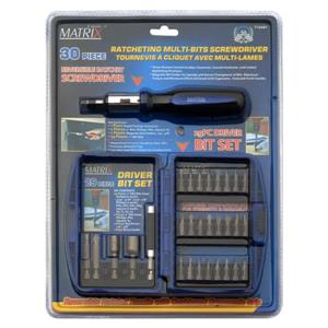 Matrix Toolway Multi-Bit Screwdriver Set - 30-Piece