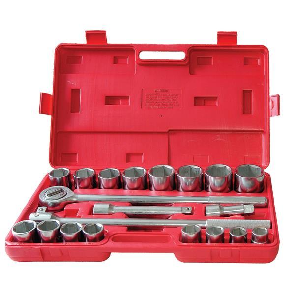 Matrix Toolway 21-Piece SAE 3/4-in Drive Jumbo Socket Set