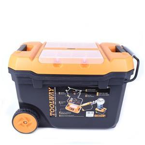 """Boîte à outils avec 2 roues de Toolway, plastique,  24""""x15"""""""