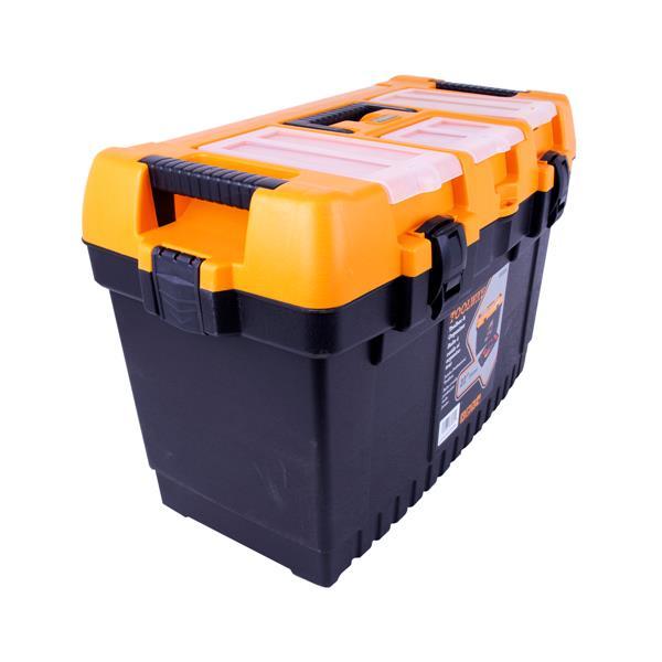 Toolway Jumbo Professional Toolbox - Plastic -  22-in