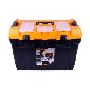 Toolway Jumbo Professional Toolbox - Plastic -  22-in
