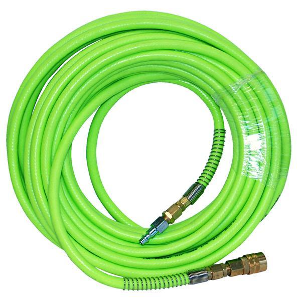 """Tuyau d'air pour compresseur  flexible en PVC, 3/8""""X25'"""