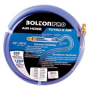"""Tuyau d'air Toolway en PVC pour compresseur, 3/8""""X 50'"""