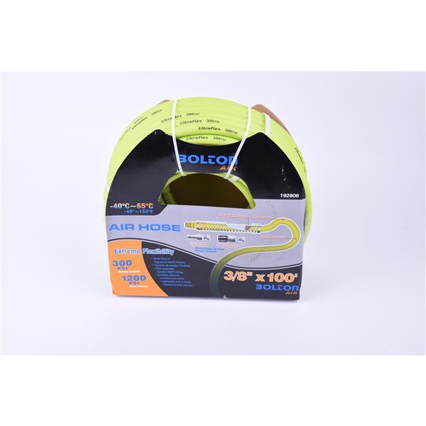 """Bolton Air Toolway Bolton Air Hose - Flexible PVC - 3/8""""X100'"""