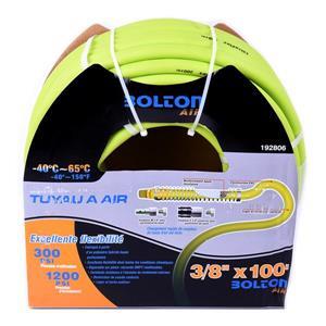 Tuyau d'air en PVC Flexible pour compresseur, 3/8