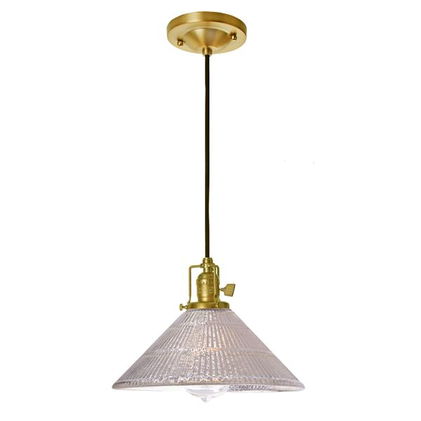 JVI Designs Bailey 1-Light Pendant - 68.5-in - Satin Brass