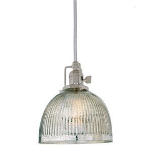 JVI Designs Madison 1-Light Pendant - 69-in - Polished Nickel