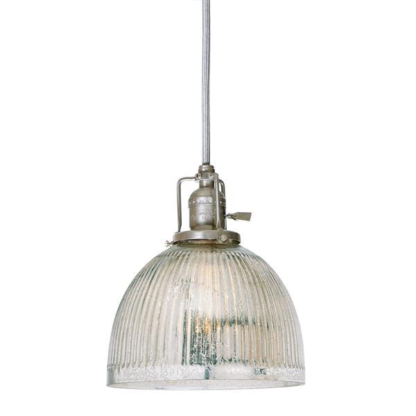 JVI Designs Madison 1-Light Pendant - 69-in - Satin Nickel
