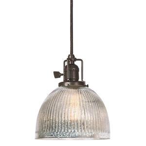 JVI Designs Madison 1-Light Pendant - 69-in - Bronze