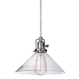 JVI Designs Bailey 1-Light Pendant - 68.5-in - Metal