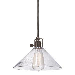 JVI Designs Bailey 1-Light Pendant - 10-in x 68.5-in - Bronze